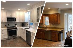 Garnet Valley Home Remodel before & after 4