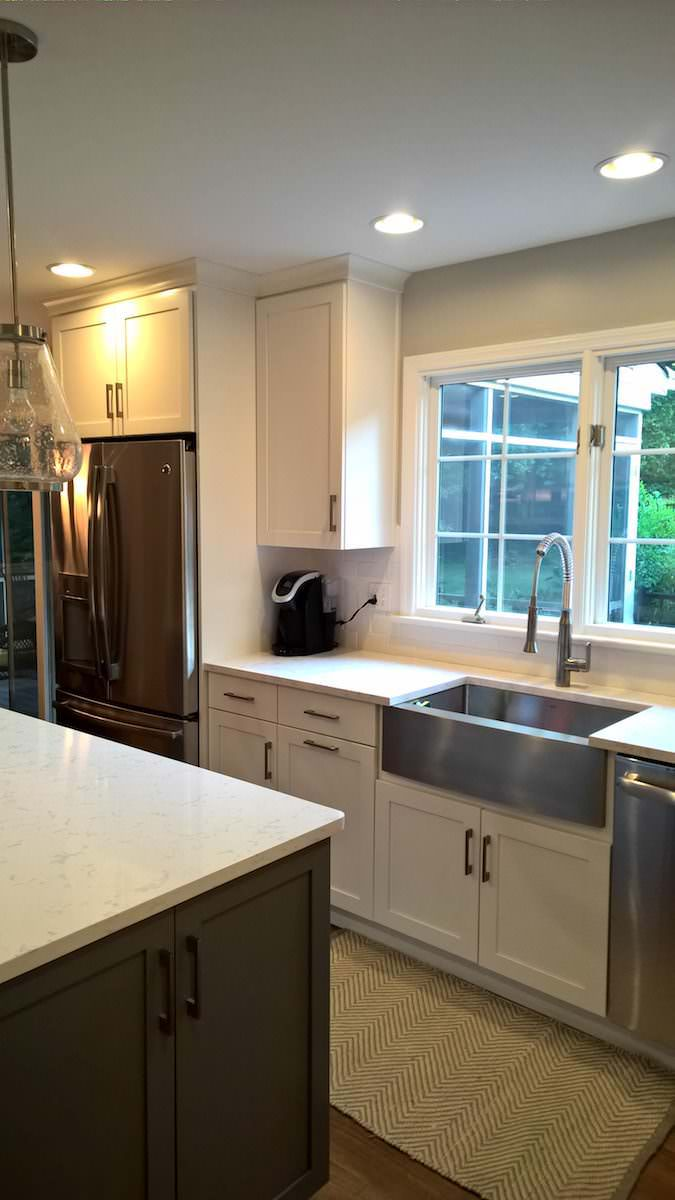 Hockessin Kitchen Cabinets Add Tons Of Space   Holcomb ...