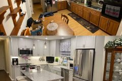 Northern Wilmington Farmhouse Kitchen Before and After