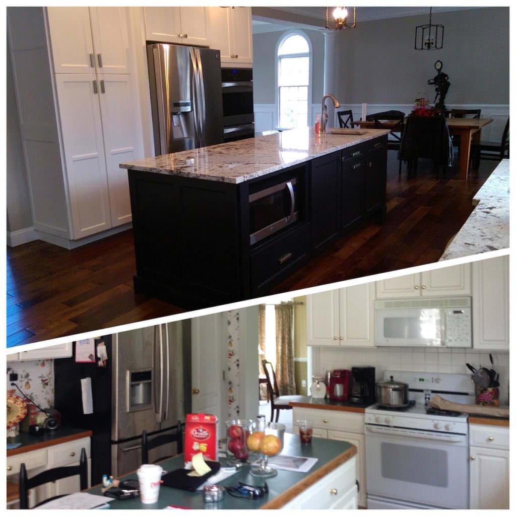 Open Kitchen Floor Plan in Media